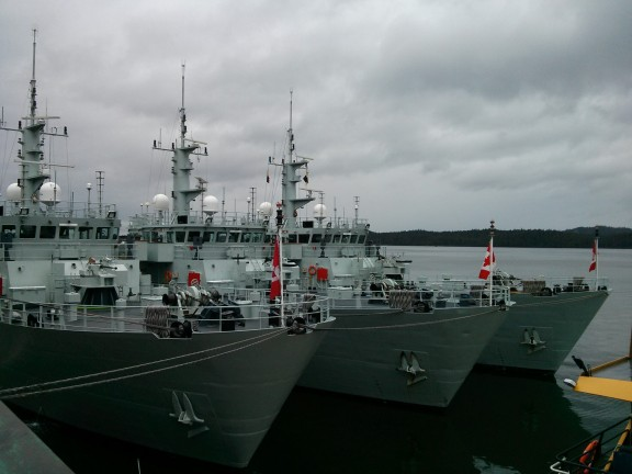 In good company with 703 , 705, 707 from the Royal Canadian Navy